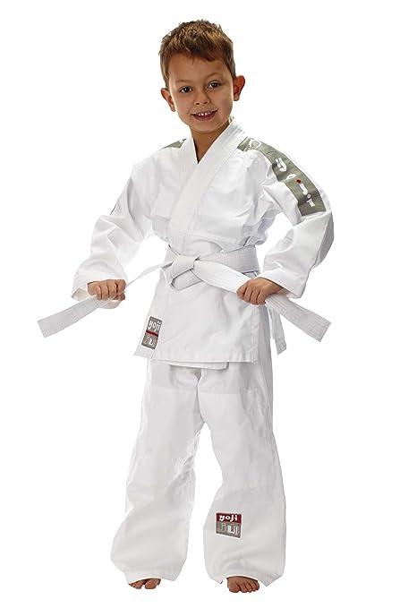Ju-Sports Traje de Judo yoji, Lisa plástico, 120: Amazon.es ...