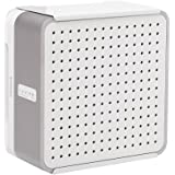HIDEit C-Amp Wall Mount (White) | Bracket for SONOS Connect:AMP; Wireless Amplifier for Streaming Music | Made in The USA