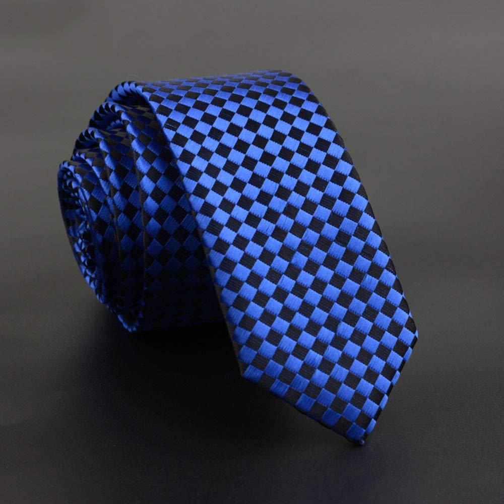 QEHWS Corbata Corbata Fina para Hombres, Vestido De Corbata con ...