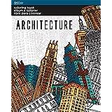 Sandylion AZ0108 Architecture Coloring Book
