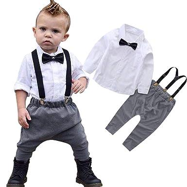 1c07ffe1a Carolilly Baby Boys Blazer Gentlemen Wedding Christening Outfit 2Pc ...