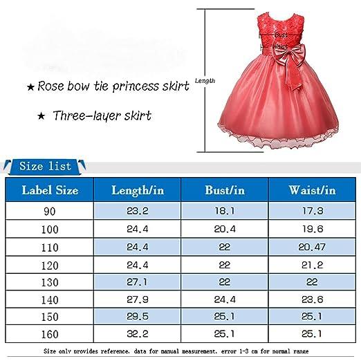 ee3ba8b320e680 Free Fisher Free Fisher Kinder Mädchen Prinzessin-Kleid Ärmellos Kleider:  Amazon.de: Bekleidung