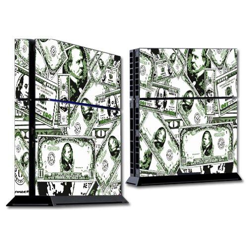 MightySkins Skin Compatible con Sony PS4 Console - Phat Cash | Cubierta protectora, duradera y exclusiva de vinilo adhesivo | Fácil de aplicar, eliminar y cambiar estilos | Hecho en los Estados Unidos.