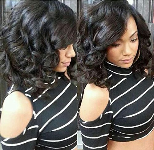 Mike & Mary Human Hair Full Lace Wigs Body Wave 10