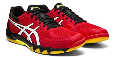 Amazon.com | ASICS Gel-Blade 7 Men's Squash and Badminton Shoes ...