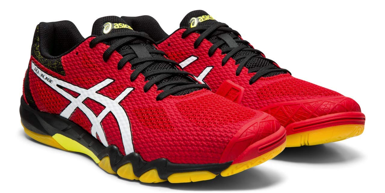 ASICS Gel-Blade 7 Men's Running Shoes, Speed Red/White, 8 M US