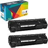 Do it Wiser 2 toner compatibili per HP LaserJet Pro M26a   HP LaserJet Pro MFP M26nw   HP Laserjet Pro M12a  toner CF279A 79A   MFP M26w   M12w  MFP M26w (2 pack)