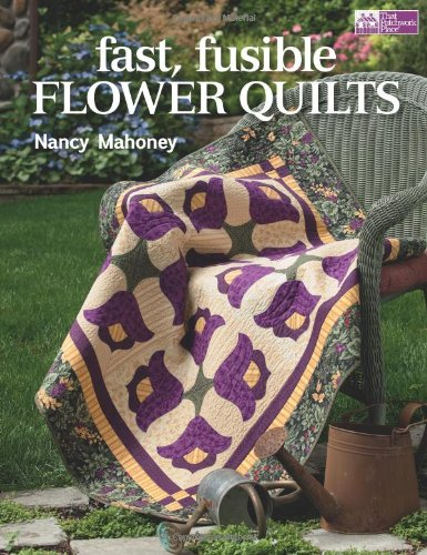 Fast, Fusible Flower Quilts - Nancy Floral Wall Hanging