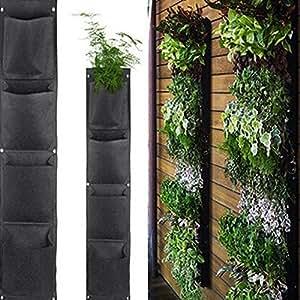 Aquarius CiCi - Bolsa para colgar en la pared, ecológica, para decoración de macetas, cestas, fieltro, organizador de ropa