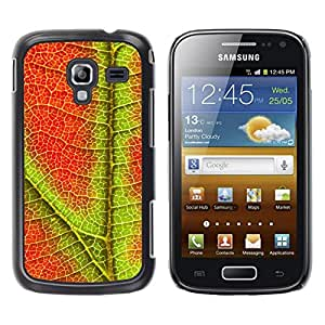 LECELL -- Funda protectora / Cubierta / Piel For Samsung Galaxy Ace 2 I8160 Ace II X S7560M -- Plant Nature Forrest Flower 96 --