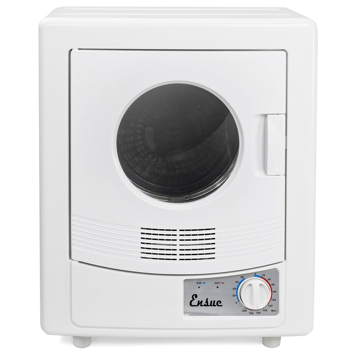 Ensue Portable Electric Tumble Dryer, Compact Stainless Steel