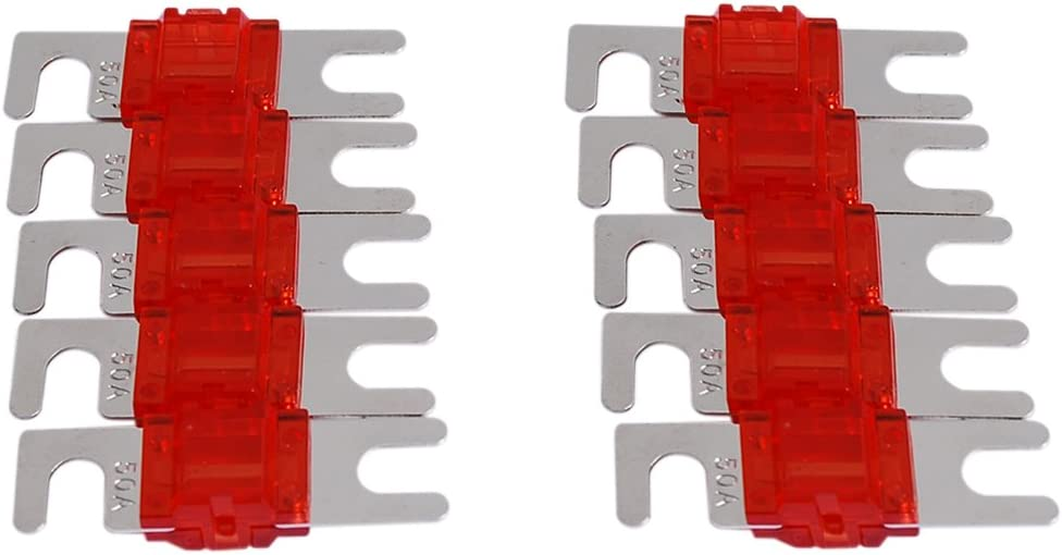 Conext Link AFS50-10 Nickel 50 Amp AFS Fuse 10 Pack