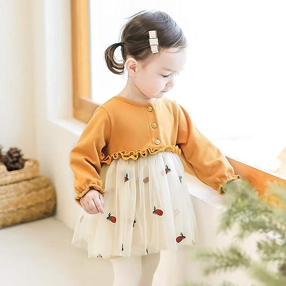 Subfamily Falda de bebe Vestido de niña Subfamily Falda de bebe Niño de los niños de la niña floral de la princesa ocasional vestido de tul trajes trajes ...