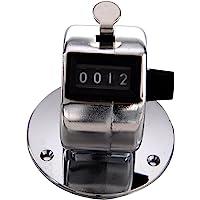 TOOGOO(R) Base ronde 4 chiffres Manuel main Pointage Mecanique Paume Cliquez Compteur