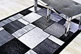 1794 Gray 7'10×10'6 Area Rug Carpet Large New Review