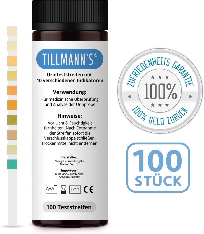 100 X Tiras Test orina   10 indicadores   Incluso Control de ...