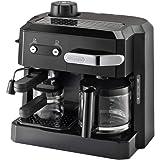 Delonghi BCO320 Combi Espresso Maker Coffee Machine, 220-Volts (Not for USA - European Cord), Black