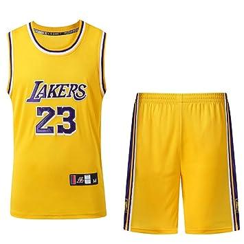 HANGESS Camiseta de Baloncesto de Los Hombres NBA Lakers ...