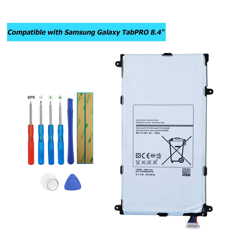 Bateria Tablet T4800e Para Samsung Tabpro 8.4 Lte-a Sm-t321