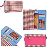 Phone wallet cell phone holder with wrist strap for QMobile Z6, QMobile Z7, QMobile Z8, QMobile Z9