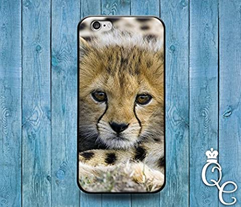 *BoutiqueHouse* iPhone 4 4s 5 5s 5c SE 6 6s plus iPod Touch 4th 5th 6th Generation Cover Fun Baby African Cheetah Cute Custom Animal Boy Girl New Born Case(iPhone (Iphone 5 Cases Cheetah)
