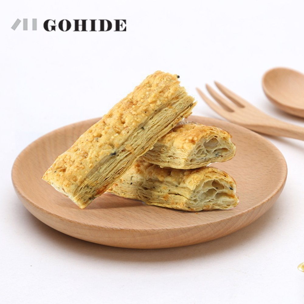 6pcs/lot Wooden Japanese Food Sweets Fruit Dessert Coffee Dish Round Wood Prato Dinner Tableware Plates Tray Dried Cushion Pastry Mat XCX