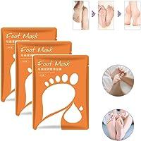 3 packs Baby Skin Ultimate Foot Peeling Mask,Exfoliating Mask for Baby Soft Feet Moisturizes (Moisturizing)