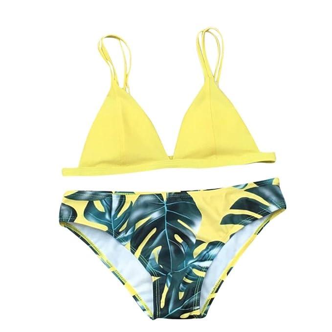 FAMILIZO Mujer Bikinis Push Up Ropa de baño Traje De Baño Bikini Sexy Mujer Push up