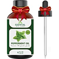 Peppermint OilTherapeutic Grade Backed by Medical ResearchLargest 4 Oz Bottle with Free Premium Dropper100% Pure and NaturalGuaranteed ResultsEssential Oil Labs