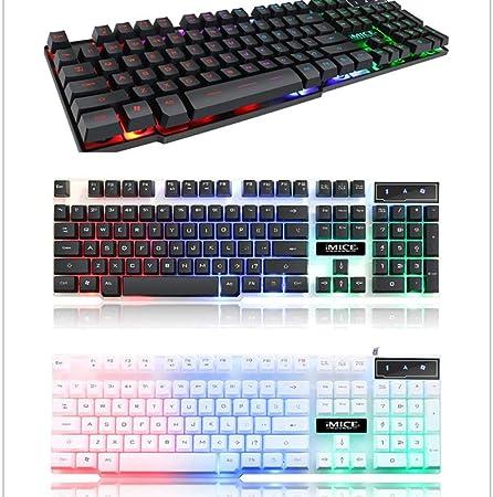 Gaming Keyboard 104 Keycaps RGB Teclado Mecánico ...