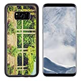 Luxlady Samsung Galaxy S8 Plus S8+ Aluminum Backplate Bumper Snap Case IMAGE ID 27611303 Vintage looking Ernst Ludwig Haus at Kuenstler Kolonie artists colony in Darmstadt Germany