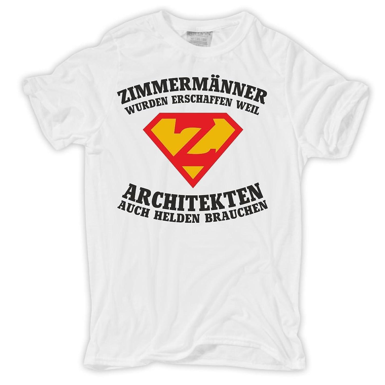 Männer und Herren T-Shirt ZIMMERMÄNNER wurden erschaffen: Amazon.de:  Bekleidung