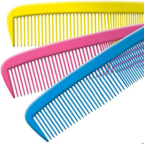 Jumbo Clown Comb Assorted Colors - Qty 1 (Yellow/ Red/Blue-13