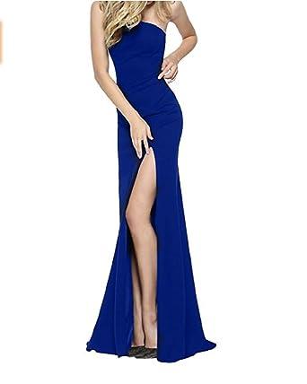 Alice Dressy Mermaid Ein-schulter Abendkleider Ballkleider lang ...