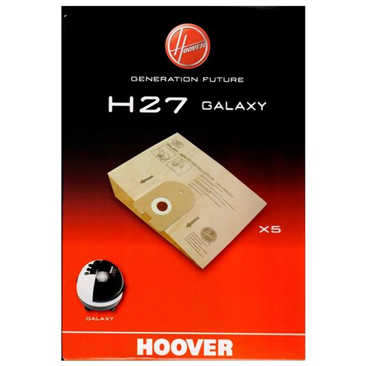 Acquisto Confezione da 5sacchetti H27Galaxy–Aspirapolvere–HOOVER Prezzo offerta