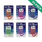 Pocket Calculator, Battery Powered Digit Pocket Sliver 8-Digit Calculator