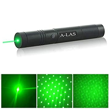 6 Patterns Green Laser Pointer High Power Hunting Rifle Scope Sight