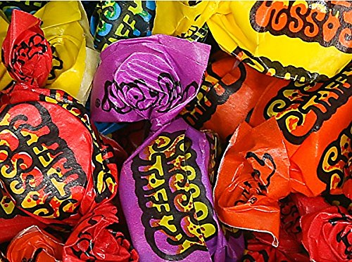 - Mix Sassy Sour Flavor Salt Water Taffy Assorted Wrapped Chewy Candy 2 LB - 32 oz