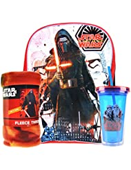New Star Wars Toys From Episode 7 the Force Awakens Backpack, Blanket, and 16.5 0z double wall tumbler