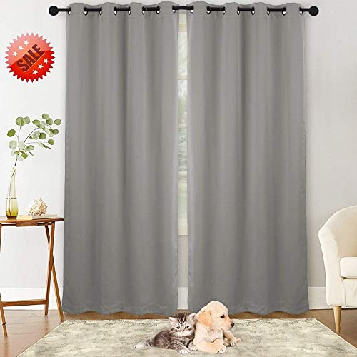 drapes for small windows curtain nanan blackout curtainssolid thermal insulated grommet curtain panels window drapes bedroomroom treatments for small windows amazoncom