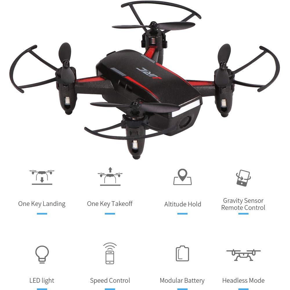 RC Drone, kopflose Mode Drone für Kinder und Anfänger RC Helikopter-Plane mit Auto-Hovering, 3D Flip, Extra Batteries Toys für Jungen und Mädchen