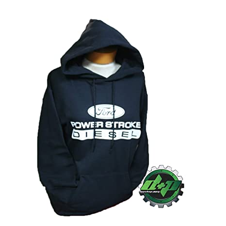 Amazon.com  Ford Powerstroke Hoodie Hooded Sweatshirt Shirt Long ... 34e18702e