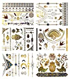 Terra Tattoos Silver Metallic Tattoos - 75 Jewelry Festival Tattoos