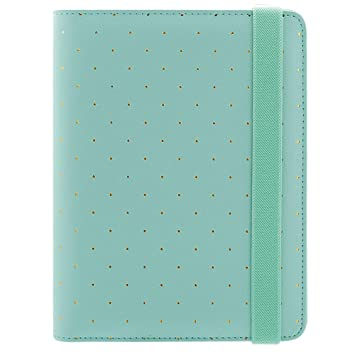 YWHY Cuaderno A6 Cuaderno Mint Planificador De Oro Agenda ...