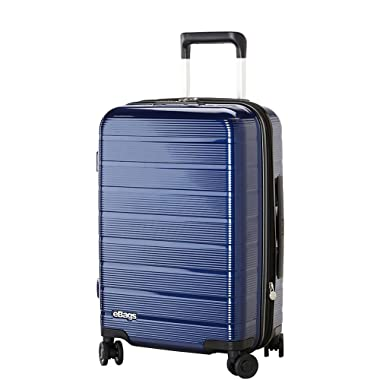eBags Fortis 22 Inch Carry-On Spinner (Blue)