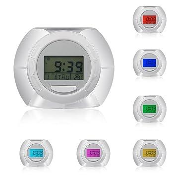 Amazon.com: Reloj despertador Deruicent de alta calidad con ...