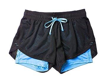 FBYYJK Pantalones Cortos De Yoga Yoga Yoga Shorts Shorts ...