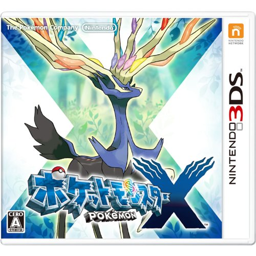 Pokemon X Japan product image
