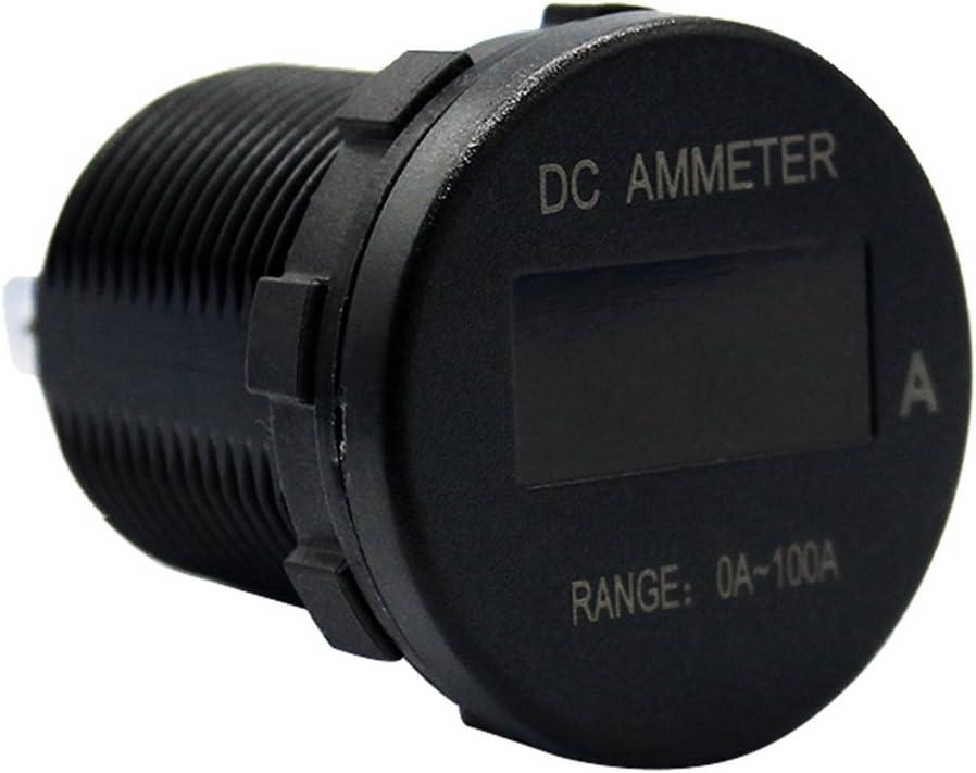 MagiDeal Car Marine Boat Motorcycle Mini OLED Display Digital Ammeter Gauge 0-100Amp