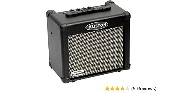 Amazon.com: Kustom Tube 12 Combo Practice Guitar Amplifer: Musical Instruments